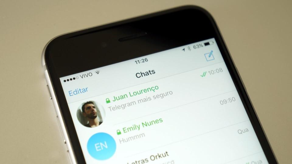 Políticos estão começando a usar o Telegram por causa do recurso de Chat Secreto