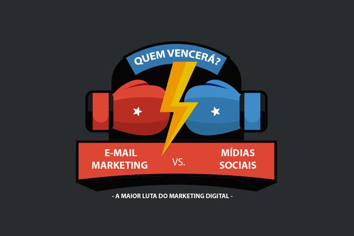 E-mail marketing x mídias sociais: descubra de uma vez em qual investir
