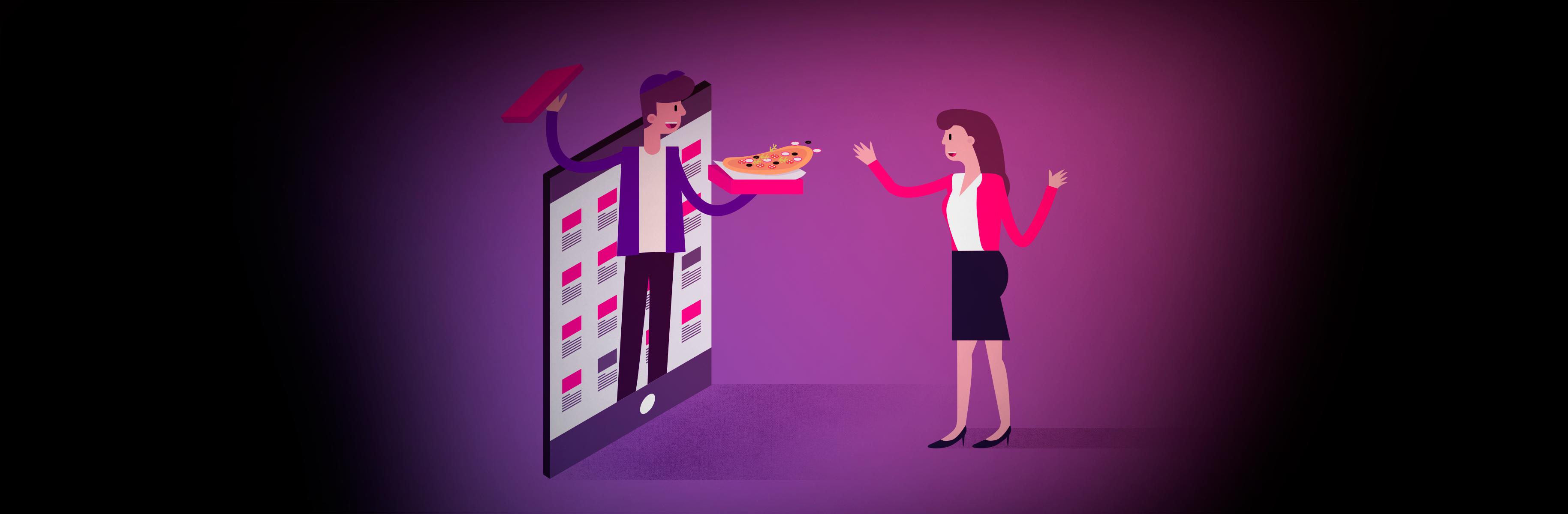 O papel do processo de atendimento nos restaurantes e deliverys