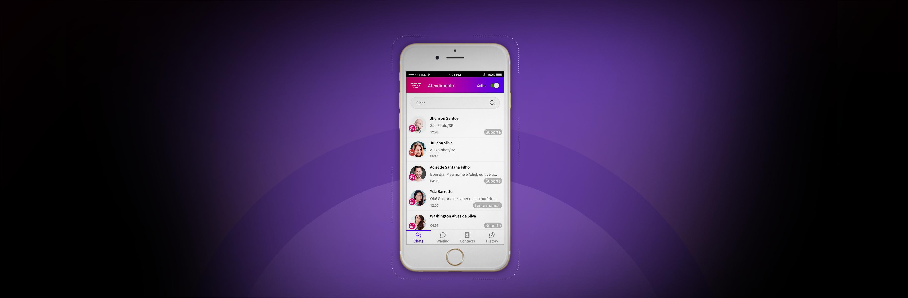 A Huggy agora tem App!
